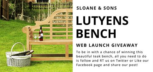 lutyens bench giveaway