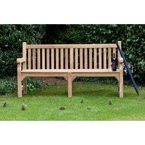 Balmoral Teak Memorial Bench 4 Seater 1.8m