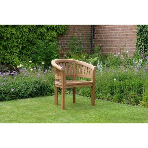 Banana Halfmoon Teak Garden Chair
