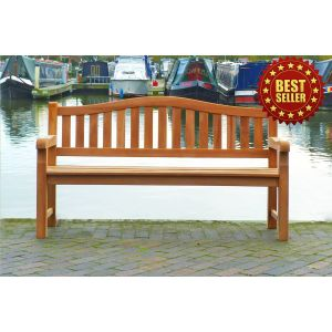 Cambridge 4 Seater Teak Bench 1.8m