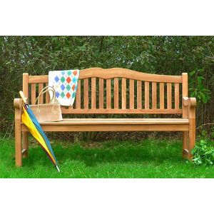 Henley Teak Commercial Bench 4 Seater 1.8m