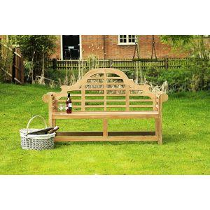 Lutyens Teak Garden Bench 3 Seater 1.5m