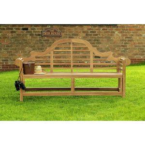 Lutyens Teak Garden Bench 4 Seater 1.8m