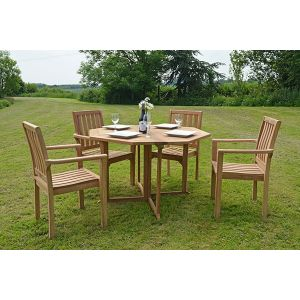 octagonal dining set