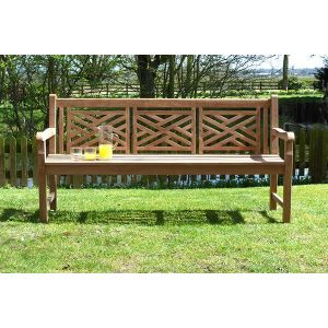 Cross Back Oxford Bench 1.8m