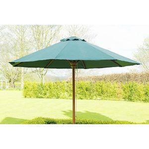 Green Outdoor Parasol 2.5 Dia