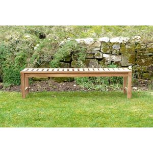Backless Three Seater Salisbury Bench