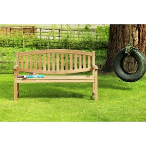 Winchester Double Oval Teak Bench 1.5m