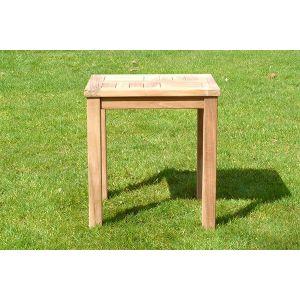 Teak Patio Garden Side Table
