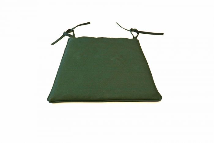 stacking chair cushion green