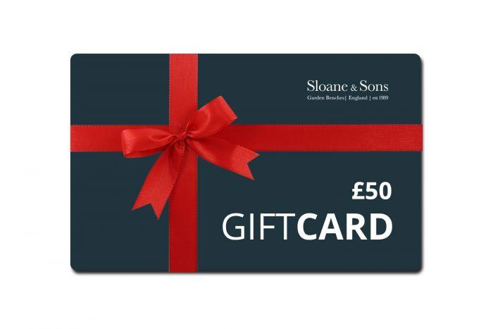 Sloane & Sons Garden Benches £50 E-Voucher