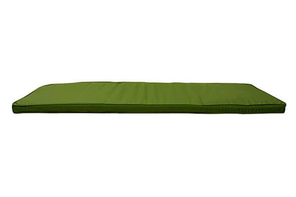 Green Bench Cushion 1.2m