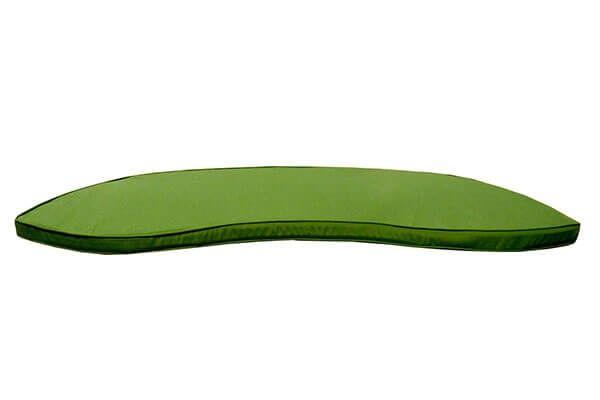 Banana Bench 1.5m Cushion in Green