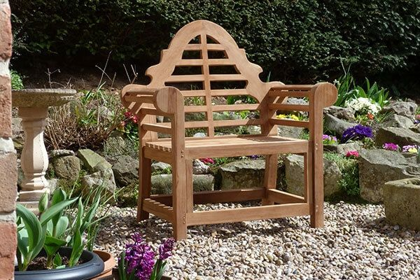 Lutyens Teak Garden Chair