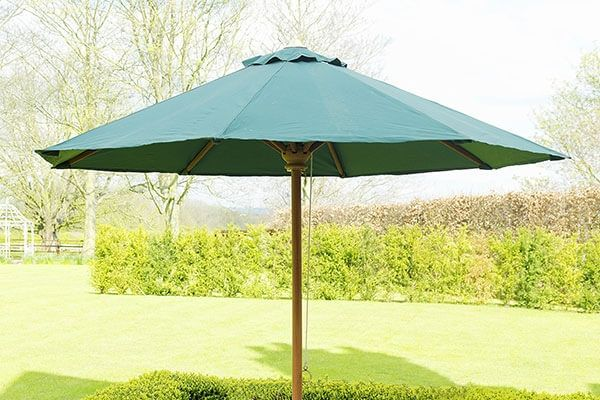 Green Outdoor Parasol 2.5 Dia