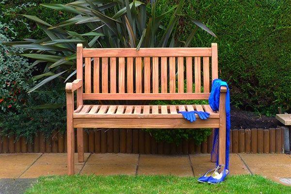 1.2m Westminster Teak Bench