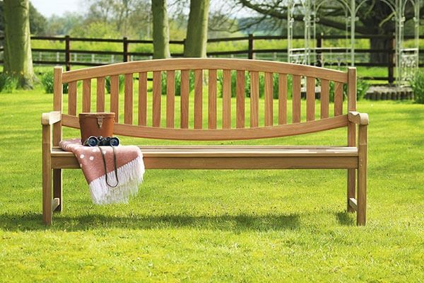 Winchester Double Oval Bench 1.8m