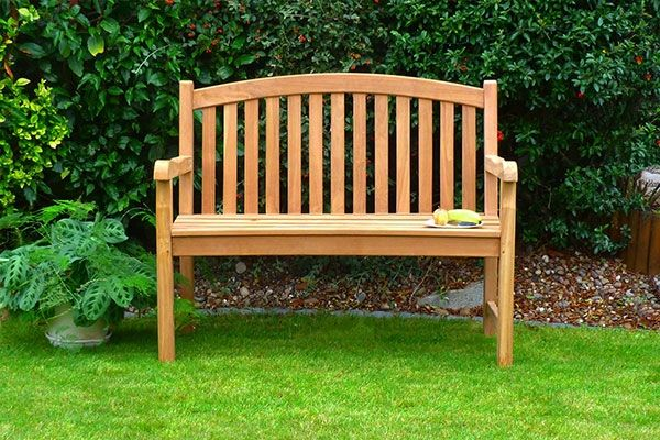 1.2m Single Oval Winchester Bench