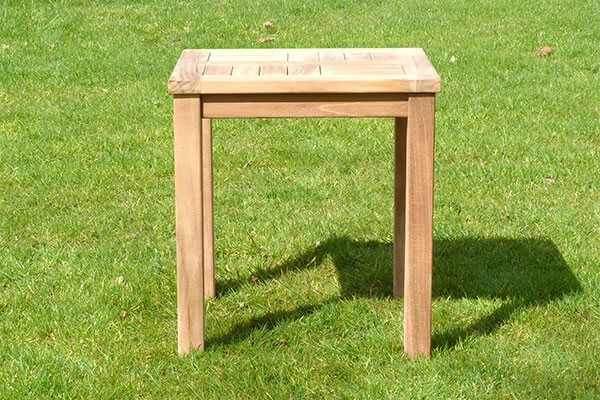 Teak Patio Garden Side Table