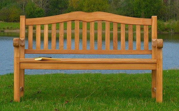 Henley Teak Commercial Bench 3 Seater 1.5m