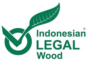 Indonesian Legal wood logo